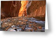 Virgin River Rocks Greeting Card