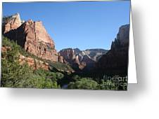 Virgin River View Greeting Card