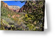Virgin River View - Zion Greeting Card