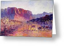 Virgin Valley View Greeting Card