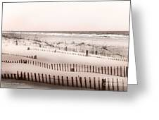 Virgina Beach Vacation Memories Greeting Card by Artist and Photographer Laura Wrede
