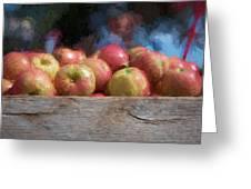 Virginia Apples Greeting Card