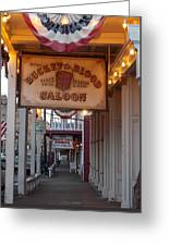 Virginia City Signs Greeting Card
