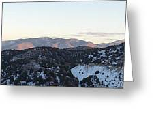 Virginia City View  Greeting Card