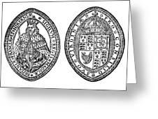 Virginia Company Seal Greeting Card