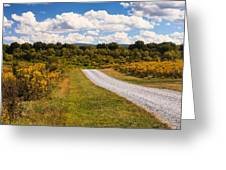 Yesterday - Virginia Country Road Greeting Card