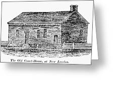 Virginia Court House Greeting Card