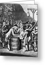 Virginia Loyalists, 1774 Greeting Card