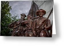 Virginia Memorial At Gettysburg Greeting Card