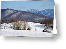Virginia Mountain High Greeting Card