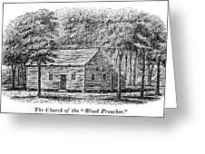 Virginia Rural Church Greeting Card