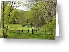 Virginia Spring Greeting Card