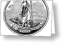 Virginia State Seal Greeting Card