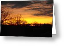 Virginia Sunset Greeting Card