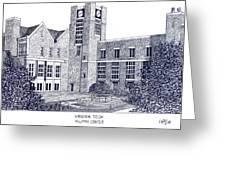 Virginia Tech Greeting Card