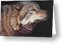 Virginia The Wolf Greeting Card