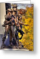Virginia To Her Sons At Gettysburg - War Fighters - Band Of Brothers 1a Greeting Card