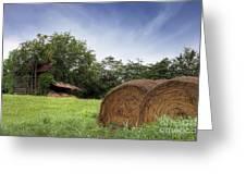 Virginia Tobacco Barn Greeting Card