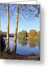 Virginia Water Windsor Berkshire Uk  Greeting Card