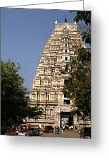 Virupaksha Temple In Hampi Greeting Card