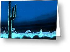 Vision Of A Desert Night Greeting Card