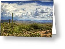 Visions Of Arizona  Greeting Card