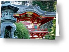 Visions Of Japan Greeting Card