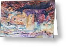 Visions Of Mesa Verde Greeting Card