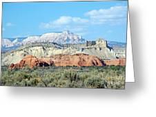 Visions Of Utah Greeting Card