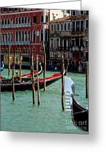 Visions Of Venice 4. Greeting Card
