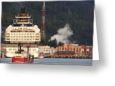 visit Alaska Greeting Card