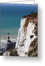 Visiting Beachy Head Greeting Card