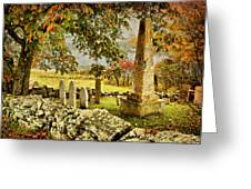 Visiting History Greeting Card