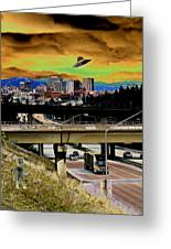 Visiting Spokane Greeting Card