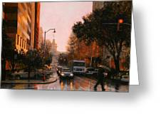 Vista Drizzle Greeting Card