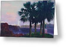 Vista Dusk Greeting Card