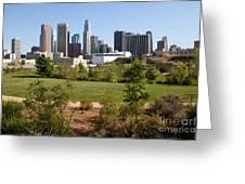 Vista Hermosa Park Los Angeles California Greeting Card