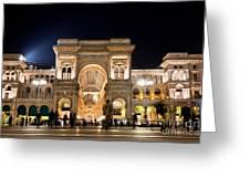 Vittorio Emanuele II Gallery Greeting Card by Michal Bednarek