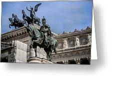 Vittorio Emanuele II Monument In Rome Greeting Card
