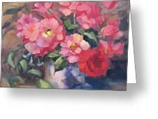 Vivacious Roses Greeting Card