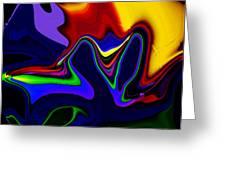 Vivacity  - Abstract  Greeting Card