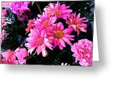 Vive Le Pink People Greeting Card