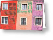 Vivid Decorations Greeting Card