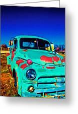 Vivid Dodge II Greeting Card