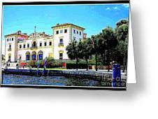 Vizcaya Museum And Gardens Greeting Card