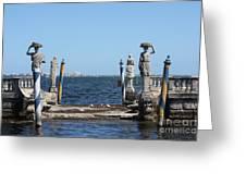 Vizcaya - The Pier Greeting Card