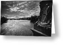 Vltava Greeting Card