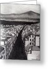 Void City Greeting Card by Kostas Koutsoukanidis