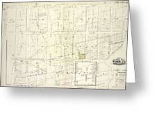 Vol. 1. Plate, N. Map Bound By Brooklyn Ave., City Line Greeting Card