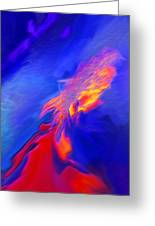 Volcanic - Abstract Greeting Card